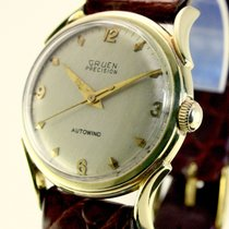 Gruen Yellow gold 31,5mm Automatic 769 pre-owned