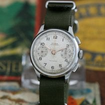 Cyma Watersport Vintage 40ies Chronograph Cal.400L