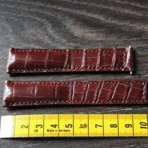 TAG Heuer Crocodile leather leder 20mm / 18mm brown strap