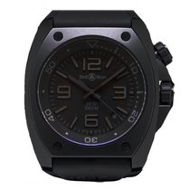 Bell & Ross Marine Pro Diver In Black Pvd Steel