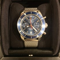 Breitling Superocean Héritage Chronograph Steel 44mm Blue No numerals United States of America, New York, New York