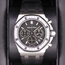 Audemars Piguet Royal Oak Offshore Lady Acero 37mm Negro Sin cifras