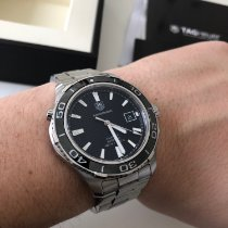 TAG Heuer Aquaracer 500M Steel 41mm Black No numerals United Kingdom, SE23 2SS