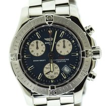 Breitling Colt Chronograph Steel 41mm Blue No numerals United States of America, New York, New York