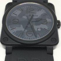 Bell & Ross BR 03 новые 2019 Автоподзавод Часы с оригинальными документами и коробкой BR0392-CAMO-CE/SRB