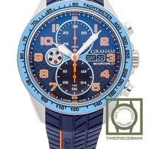Graham Silverstone RS Acero 46mm Azul Árabes