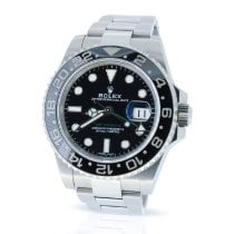 Rolex 116710LN Steel 2017 GMT-Master II 40mm pre-owned United Kingdom, London