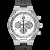 Vacheron Constantin Overseas Chronograph Steel 42mm Silver United States of America, California, San Mateo