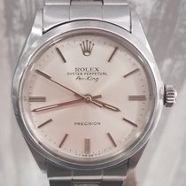 Rolex Air King Precision Сталь 34mm Cеребро Без цифр