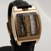 Corum Golden Bridge Rose gold 37mm Transparent No numerals