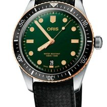 Oris Divers Sixty Five Steel 40mm Green United States of America, New Jersey, Cherry Hill