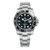 Rolex GMT-Master II Steel 40mm Black No numerals United States of America, New York, NEW YORK