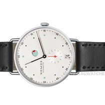 NOMOS Metro Datum Gangreserve new 2019 Manual winding Watch with original box and original papers 1101