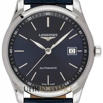 Longines Steel Automatic Blue 40mm new Master Collection