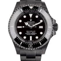 Rolex Sea-Dweller Deepsea Stal 43mm Czarny Bez cyfr Polska, Krakow