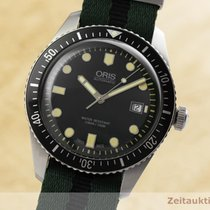 Oris Divers Sixty Five Ocel 42mm Zelená