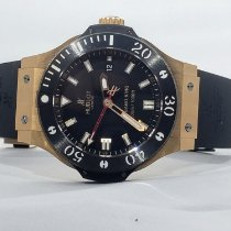 Hublot Rose gold Automatic Black No numerals 44mm pre-owned Big Bang King