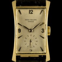 Patek Philippe 18k Yellow Gold Hour Glass Vintage Fancy Long...
