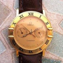 Omega Gelbgold 1990 Constellation Day-Date gebraucht