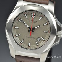 Victorinox Swiss Army I.N.O.X. Warm Grey Dial Quartz Stainless...