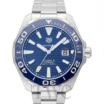 TAG Heuer Calibre 5 Automatic Watch 300 M Blue Steel 43mm -...