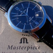 "Maurice Lacroix Pontos Date ""GMT"""