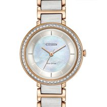 Citizen EM0483-89D Silhouette Crystal White Mother Of Pearl...