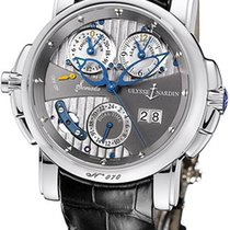 Ulysse Nardin Sonata Cathedral 18K White Gold Men's Watch