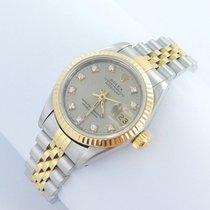 Rolex Datejust Lady Stahl/gold Brillanten Diamanten Ref. 69173...