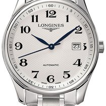 Longines Master Collection Steel 42mm Silver Arabic numerals