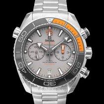 Omega Titanium Automatic Grey 45.5mm new Seamaster Planet Ocean Chronograph