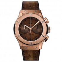 Hublot CHRONOGRAPH BERLUTI SCRITTO KING GOLD - LIMITED EDITION...