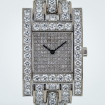 Chopard Your Hour Ref 445/1, 18K White Gold, 22CTW Factory...