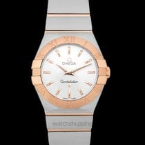Omega Constellation Quartz new Red gold