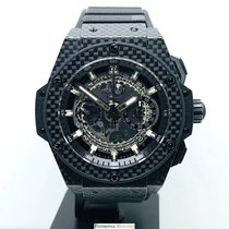 Hublot King Power pre-owned Carbon