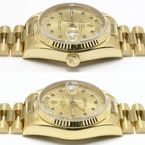 Rolex Yellow gold Automatic 35mm Day-Date 36