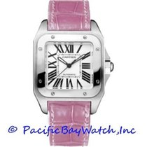Cartier Santos 100 Steel 33mm Silver Roman numerals United States of America, California, Newport Beach