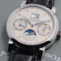 A. Lange & Söhne Saxonia Platinum 38.5mm Grey No numerals United States of America, Texas, Houston