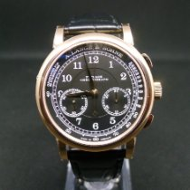 A. Lange & Söhne 1815 Rose gold 39.5mm Black Arabic numerals United States of America, New York, Westchester