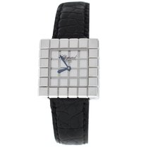 Chopard Ice Cube Staal 25mm Zilver