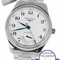 Longines Master Collection Steel 40mm Champagne Arabic numerals United States of America, New York, Smithtown