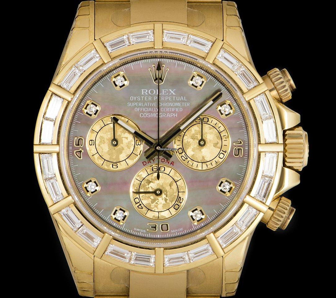 Hodinky Rolex Daytona Žluté zlato  edd1f0d360
