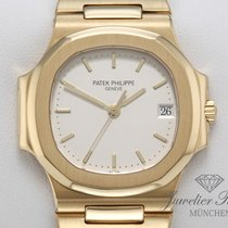 Patek Philippe 3800 Yellow gold 1993 Nautilus 37mm pre-owned