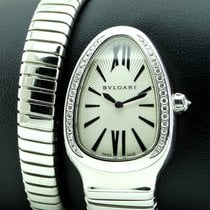 Bulgari Serpenti Steel 35mm White