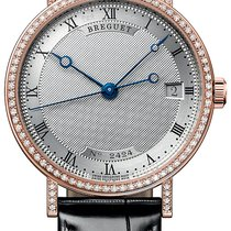 Breguet Classique Rose gold 33.5mm Silver Roman numerals United States of America, New York, Scarsdale