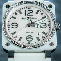 Bell & Ross Ceramic 42mm Automatic BR 03-92-SC-02143 pre-owned