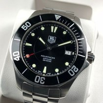 TAG Heuer Aquaracer 300M pre-owned 41mm Black Date Steel