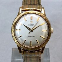 Omega Seamaster Yellow gold 34mm Silver No numerals