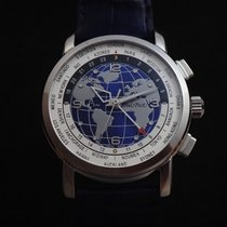 Paul Picot Firshire Stahl 42mm Blau Schweiz, La Chaux-de-Fonds