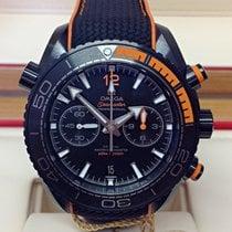Omega Seamaster Planet Ocean Chronograph Céramique 45.5mm Noir Sans chiffres